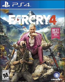PS4 Far Cry 4 - R3 ENGLISH