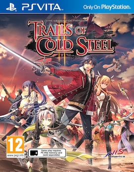 PS Vita The Legend Of Heroes Trails Of Cold Steel 2 R2