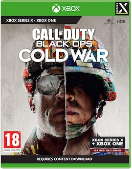 Call of Duty Black Ops: Cold War Xbox Series X Hardcopy (Xbox Series X) Gaming