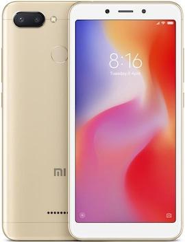 Xiaomi Redmi6 Gold, 3/32GB, DS, 4G  MZB6363EU