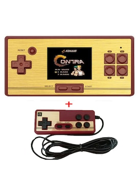 """AV Output Classic Retro Game TV Console Two Players Handheld Portable 2.6"""" 600 Games Pocket"""