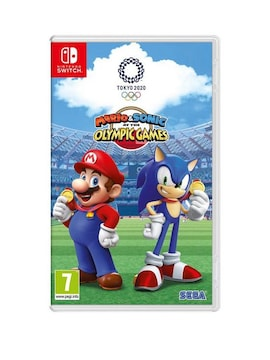 Mario & Sonic at the OLYMPIC GAMES 2020 Nintendo Switch hardcopy Brand new & Sealed Nintendo Switch Gaming