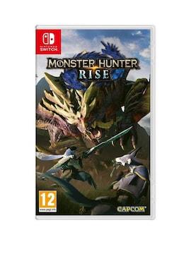 Monster Hunter Rise (Nintendo Switch) + Steelbook  Nintendo Switch Gaming