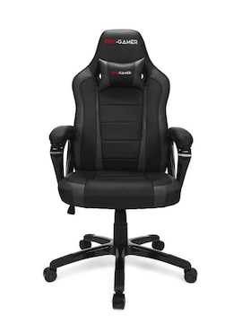 PRO-GAMER ATILLA Gaming armchair Padded seat Black, Grey