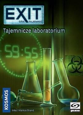 Galakta Gra EXIT: Tajemnicze laboratorium