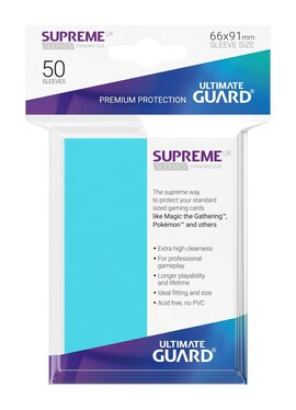 Ultimate Guard Koszulki Supreme UX Standard Aquamarine (50)