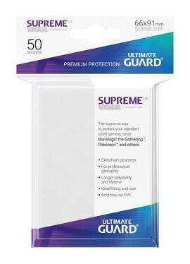 Ultimate Guard Koszulki Supreme UX Standard Białe (50)