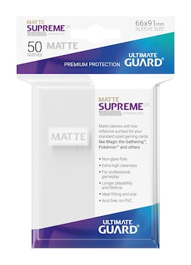 Ultimate Guard Koszulki Supreme UX Standard Matte Białe (50)