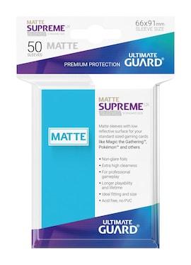 Ultimate Guard Koszulki Supreme UX Standard Matte Jasno Niebieskie (50)