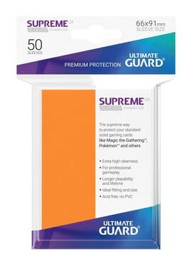 Ultimate Guard Koszulki Supreme UX Standard Pomarańczowe (50)