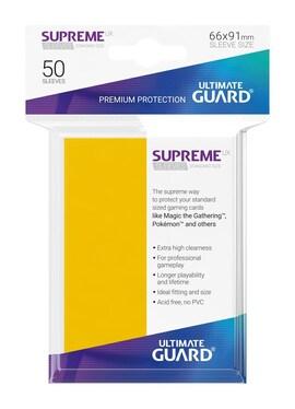 Ultimate Guard Koszulki Supreme UX Standard Żółte (50)