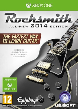 Rocksmith 2014 Edition - Includes Cable Xbox one Hardcopy Brand new & Sealed Xbox One Gaming