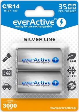 Akumulatorki C/R14 Everactive Silver Line 3500 Mah 2 Sztuki