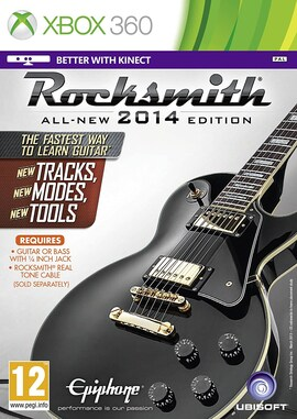 Rocksmith 2014 Edition X360 Hard copy Brand new & Sealed XBOX 360 Gaming