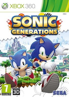 Sonic Generations Classics X360 Hardcopy Brand new & Sealed XBOX 360 Gaming