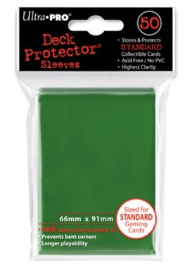 Ultra-Pro Koszulki Deck Protector Standard 66x91 - Zielone (50szt)