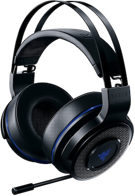 Razer Thresher 7.1 for PlayStation - Wireless Gaming Headset for PS4, PS5 and PC Wireless Headphones, Dolby 7.1 Black