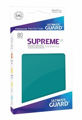 Ultimate Guard Koszulki Supreme UX Standard Petrol Blue (80)