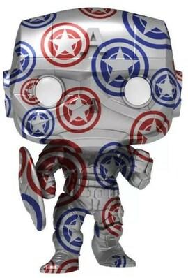 Funko POP Artist Series: Patriotic Age - Captain America