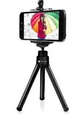 Statyw Techly Selfi Mini Do Smartfona / Aparatu, Regulowany I-Tripod-Un