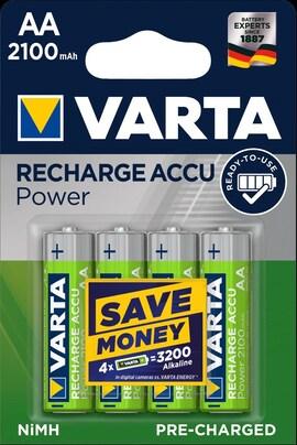 Akumulatorki Varta Accu 2100Mah Hr06/Aa 4Szt