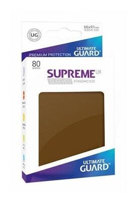 Ultimate Guard Koszulki Supreme UX Standard Brązowe (80)