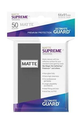 Ultimate Guard Koszulki Supreme UX Standard Matte Ciemno Szare (50)