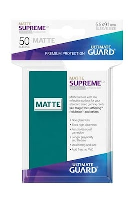 Ultimate Guard Koszulki Supreme UX Standard Matte Petrol Blue (50)