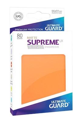 Ultimate Guard Koszulki Supreme UX Standard Matte Pomarańczowe (80)