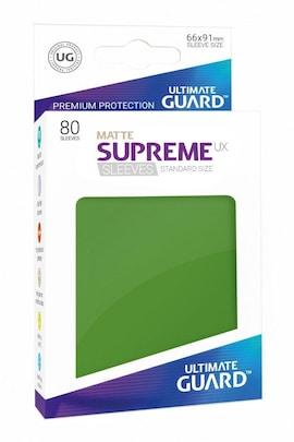 Ultimate Guard Koszulki Supreme UX Standard Matte Zielone (80)