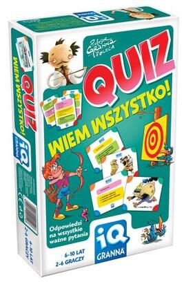 IQ - Quiz: wiem wszystko