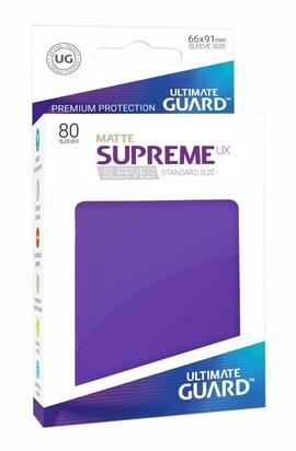 Ultimate Guard Koszulki Supreme UX Standard Matte Fioletowe (80)