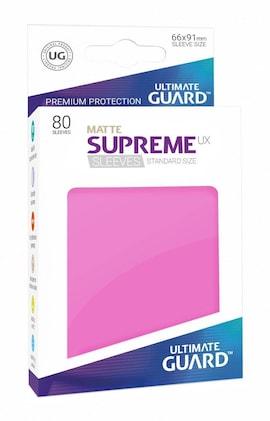 Ultimate Guard Koszulki Supreme UX Standard Matte Różowe (80)
