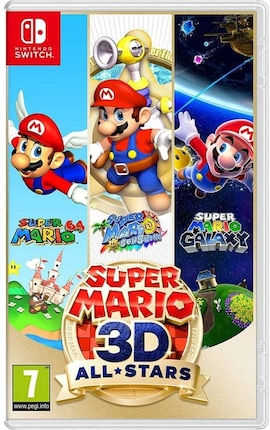 Super Mario 3D All-Stars (Nintendo Switch) Nintendo Switch Gaming