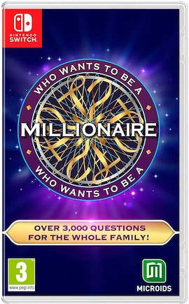 Who Wants to Be a Millionaire? Nintendo Switch Hardcopy Brand new & Sealed Nintendo Switch Gaming