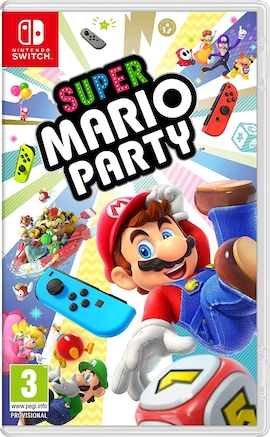 Super Mario Party Nintendo Switch Hardcopy Brand new & Sealed Nintendo Switch Gaming