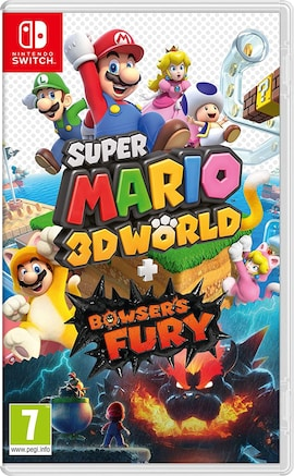 Super Mario 3D World + Bowser Fury Nintendo Switch Gaming
