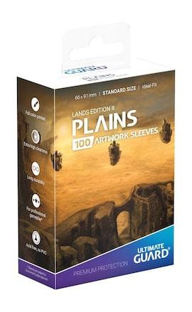 Ultimate Guard Koszulki Printed Standard Lands Edition II Plains  (100)