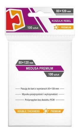 Koszulki Rebel (80x120) Medusa Premium 100szt