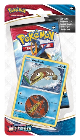 Pokemon TCG: Battle Styles Arrokuda Checklane Blister