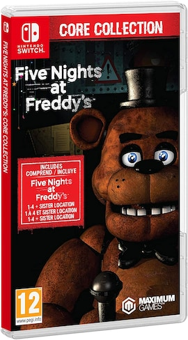 Five Nights at Freddy's - Core Collection Nintendo Switch Hardcopy Brand new & Sealed Nintendo Switch Gaming