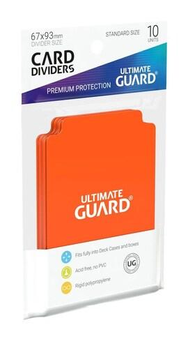Ultimate Guard Przegródki Standard Pomarańczowe (10)