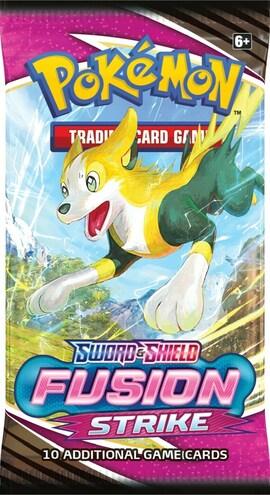 Pokémon TCG: Fusion Strike Booster Box Display (36 sztuk)