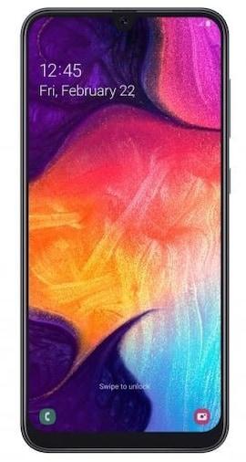 Smartphone SAMSUNG Galaxy A50 128 GB DualSIM Czarny 128 GB Czarny SM-A505FZKSE33