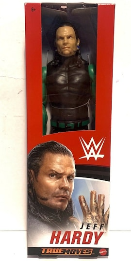 MATTEL WWE Jeff Hardy True Moves 30cm GLC55