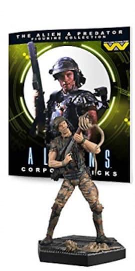 Eaglemoss Aliens Corporal Dwayne Hicks 13cm 1:16