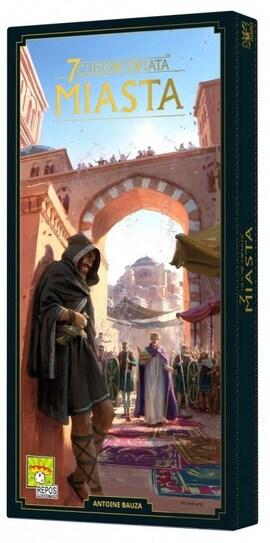 Rebel Gra 7 Cudów Świata. Miasta (Nowa Edycja 2020)