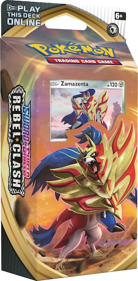 Pokemon TCG: Rebel Clash - Theme Deck (Zamazenta)