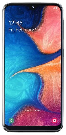 Smartphone SAMSUNG Galaxy A20e Czarny 32 GB Czarny SM-A202FZKDXEO