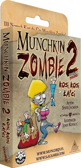 Munchkin Zombie 2 Kosi Kosi Łapci